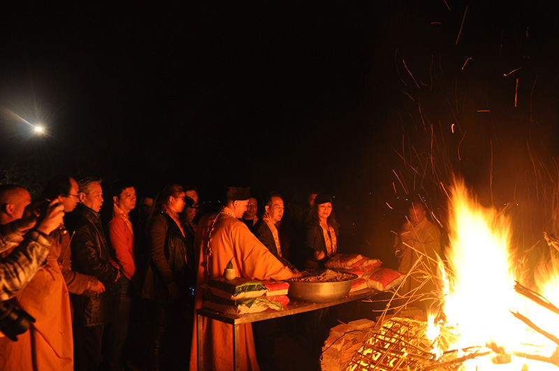 2014南山古寺迎请观音新春祈福法会圆满举行