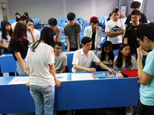 国际商业美术设计师icad手绘实训课程在珠海成功举办